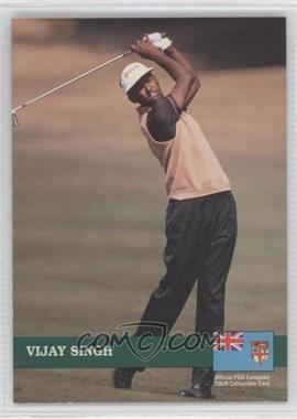 1992 Pro Set Golf - European Tour #E6 - Vijay Singh