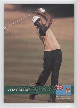 1992 Pro Set Golf European Tour #E6 - Vijay Singh
