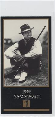 1993-98 Grand Slam Ventures Champions of Golf: The Masters Collection - [Base] #1949 - Sam Snead
