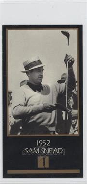 1993-98 Grand Slam Ventures Champions of Golf: The Masters Collection - [Base] #1952 - Sam Snead