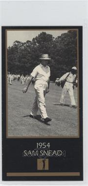 1993-98 Grand Slam Ventures Champions of Golf: The Masters Collection - [Base] #1954 - Sam Snead