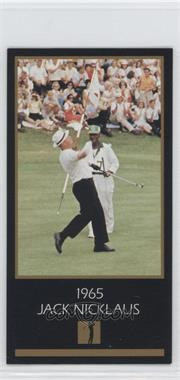 1993-98 Grand Slam Ventures Champions of Golf: The Masters Collection - [Base] #1965 - Jack Nicklaus