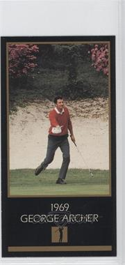 1993-98 Grand Slam Ventures Champions of Golf: The Masters Collection - [Base] #1969 - George Archer