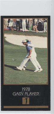 1993-98 Grand Slam Ventures Champions of Golf: The Masters Collection - [Base] #1978 - Gary Player
