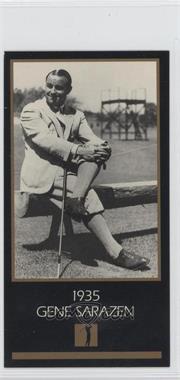 1993-98 Grand Slam Ventures Champions of Golf: The Masters Collection #1935 - Gene Sarazen