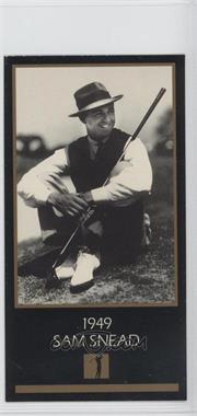 1993-98 Grand Slam Ventures Champions of Golf: The Masters Collection #1949 - Sam Snead