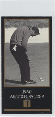 1993-98 Grand Slam Ventures Champions of Golf: The Masters Collection #1960 - Arnold Palmer
