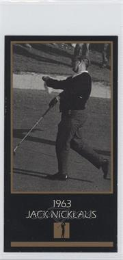 1993-98 Grand Slam Ventures Champions of Golf: The Masters Collection #1963 - Jack Nicklaus
