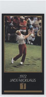 1993-98 Grand Slam Ventures Champions of Golf: The Masters Collection #1972 - Jack Nicklaus