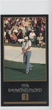 1993-98 Grand Slam Ventures Champions of Golf: The Masters Collection #1976 - Raymond Floyd