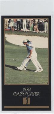1993-98 Grand Slam Ventures Champions of Golf: The Masters Collection #1978 - Gary Player
