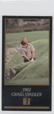 1993-98 Grand Slam Ventures Champions of Golf: The Masters Collection #1982 - Craig Stadler