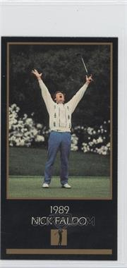 1993-98 Grand Slam Ventures Champions of Golf: The Masters Collection #1989 - Nick Faldo