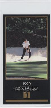 1993-98 Grand Slam Ventures Champions of Golf: The Masters Collection #1990 - Nick Faldo