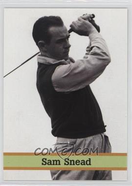 1993 Fax Pax Famous Golfers #29 - Sam Snead