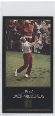 1993 Grand Slam Ventures Champions of Golf: The Masters Collection Jack Nicklaus Gold #1972 - Jack Nicklaus