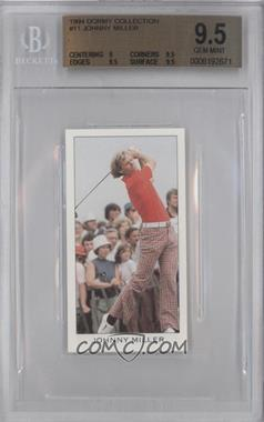 1994 The Dormy Collection - [Base] #11 - Johnny Miller [BGS 9.5]