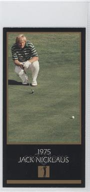 1998 Champions of Golf, The Masters Collection #N/A - Jack Nicklaus