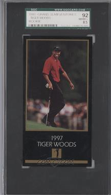 1998 Champions of Golf, The Masters Collection #TIWO - Tiger Woods [SGC 92]