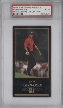 1998 Champions of Golf, The Masters Collection #TIWO - Tiger Woods [PSA 5]