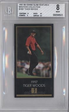 1998 Champions of Golf, The Masters Collection #TIWO - Tiger Woods [BGS 8]