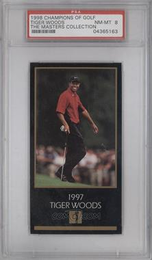 1998 Champions of Golf, The Masters Collection #TIWO - Tiger Woods [PSA 8]