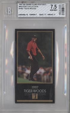 1998 Champions of Golf, The Masters Collection #TIWO - Tiger Woods [BGS7.5]