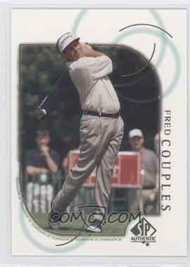 2001 SP Authentic - [Base] #3 - Fred Couples