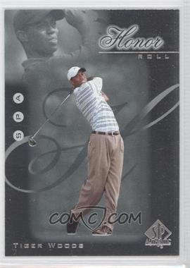 2001 SP Authentic - Honor Roll #HR1 - Tiger Woods