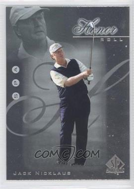 2001 SP Authentic - Honor Roll #HR13 - Jack Nicklaus