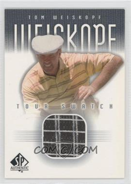 2001 SP Authentic - Tour Swatch #TWe-TS - Tom Weiskopf