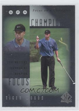 2001 SP Authentic Focus on a Champion #FC9 - Tiger Woods