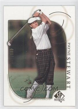 2001 SP Authentic Gold #6 - Payne Stewart /500