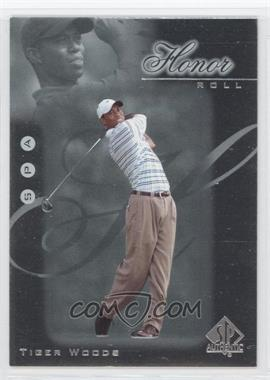2001 SP Authentic Honor Roll #HR1 - Tiger Woods