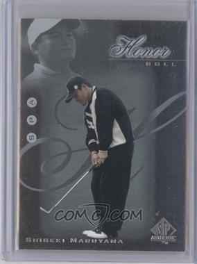 2001 SP Authentic Honor Roll #HR20 - Shigeki Maruyama