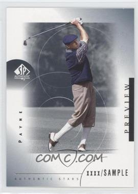 2001 SP Authentic Preview - [Base] #38 - Payne Stewart