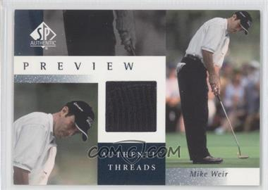 2001 SP Authentic Preview [???] #MW-AT - Mike Weir