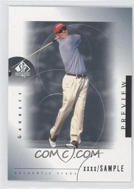 2001 SP Authentic Preview #43 - Garrett Willis