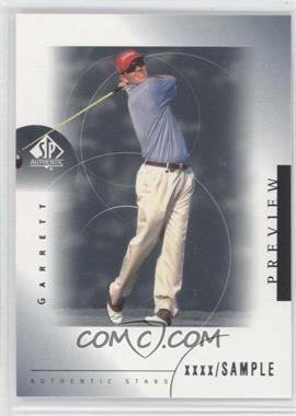 2001 SP Authentic Preview #43 - Garrett Willis