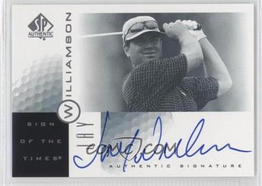 2001 SP Authentic Sign of the Times #JW - Jay Williamson