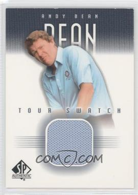 2001 SP Authentic Tour Swatch #AB-TS - Andy Bean