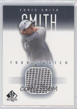 2001 SP Authentic Tour Swatch #CSm-TS - Chris Smith