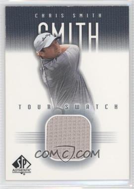 2001 SP Authentic Tour Swatch #CSm-TS - Chris Smith