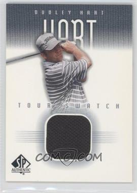 2001 SP Authentic Tour Swatch #DH-TS - Dudley Hart