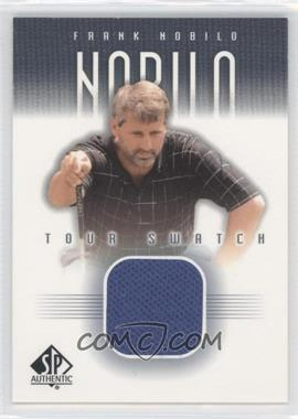 2001 SP Authentic Tour Swatch #FN-TS - Frank Nobilo