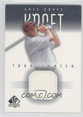 2001 SP Authentic Tour Swatch #GK-TS - Greg Kraft