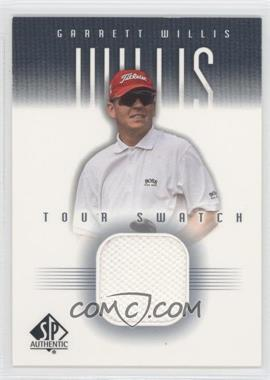 2001 SP Authentic Tour Swatch #GW-TS - Garrett Willis