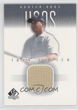 2001 SP Authentic Tour Swatch #HH-TS - Hunter Haas