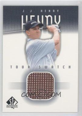 2001 SP Authentic Tour Swatch #JJ-TS - J.J. Henry