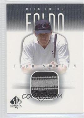 2001 SP Authentic Tour Swatch #NF-TS - Nick Faldo